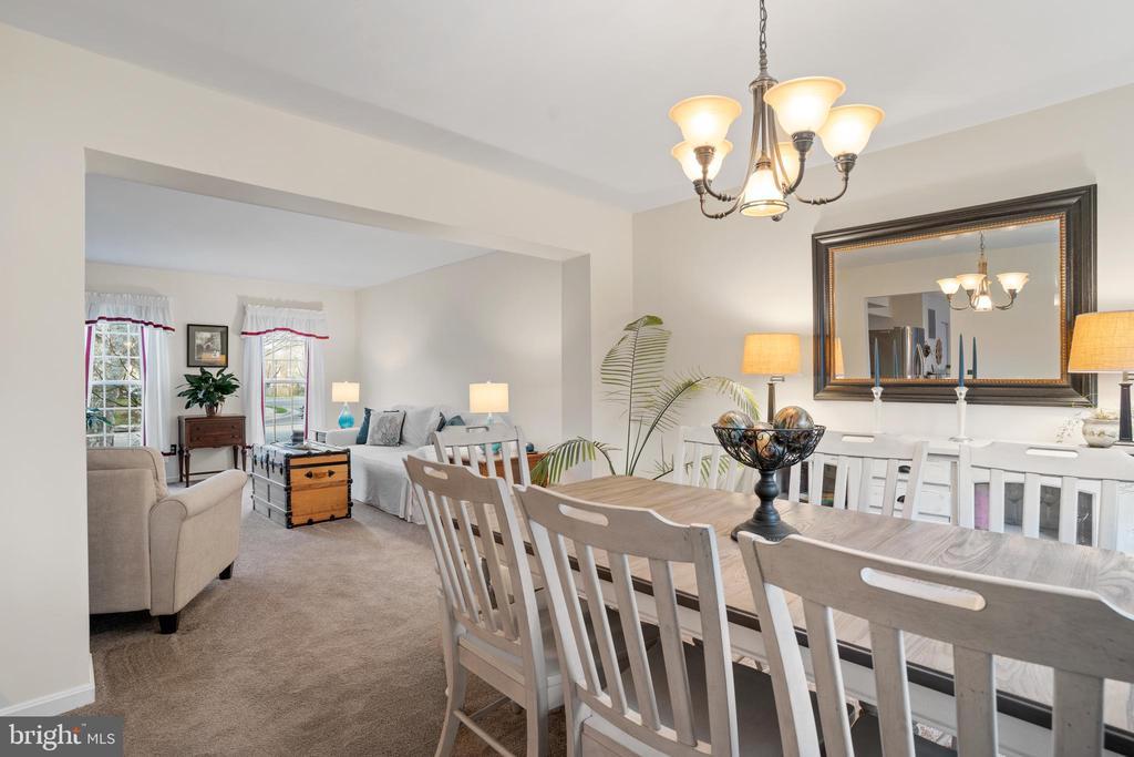 Generously Sized Dining Room - 311 ASHTON DR SW, LEESBURG