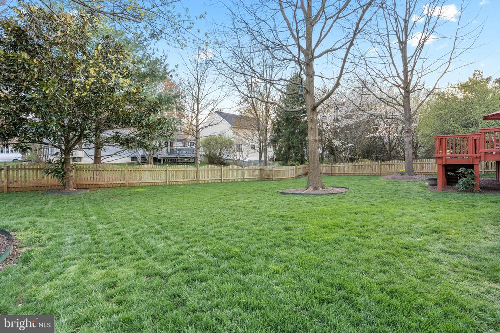 Well Groomed, Usable Yard - 311 ASHTON DR SW, LEESBURG