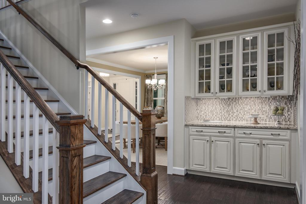 Staircase to Kitchen - 0 CROSS CREEK DR #4, COLUMBIA