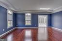Elegant Formal Living Room with Crown Moldings - 22441 BEAVERDAM DR, ASHBURN