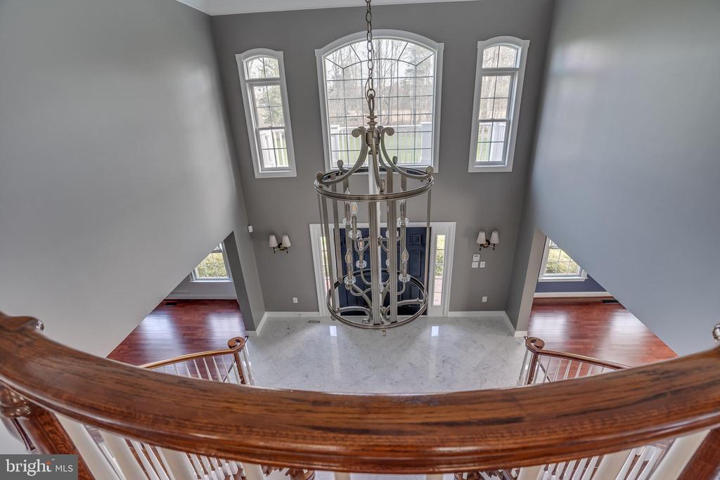 Great View of Grand Foyer - 22441 BEAVERDAM DR, ASHBURN