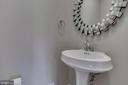 Powder Room - 22441 BEAVERDAM DR, ASHBURN