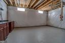 Multipurpose Unfinished Area - 22441 BEAVERDAM DR, ASHBURN
