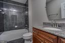 Basement Full Bath - 22441 BEAVERDAM DR, ASHBURN