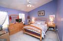 Primary bedroom on upper level. - 13970 BIG YANKEE LN, CENTREVILLE