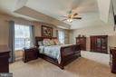 Large primary room with trey ceiling - 3 LEGAL CT, STAFFORD