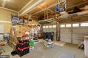 Large 2 car garage - 3 LEGAL CT, STAFFORD