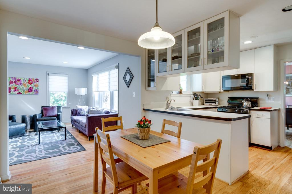 Eat-in Kitchen - 8800 TRAFALGAR CT, SPRINGFIELD