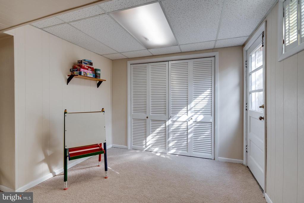 Lots of Storage Space and Door to Side Yard - 8800 TRAFALGAR CT, SPRINGFIELD