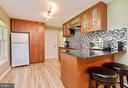 Full kitchen downstairs! - 20693 LONGBANK CT, STERLING