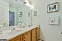 Upstairs Guest Bath - 20693 LONGBANK CT, STERLING