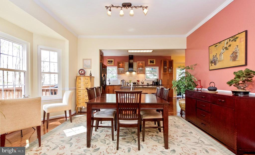Formal Dining Room open to kitchen! - 20693 LONGBANK CT, STERLING
