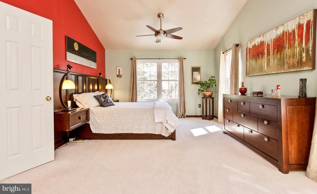 Spacious sun-lit owners suite! - 20693 LONGBANK CT, STERLING
