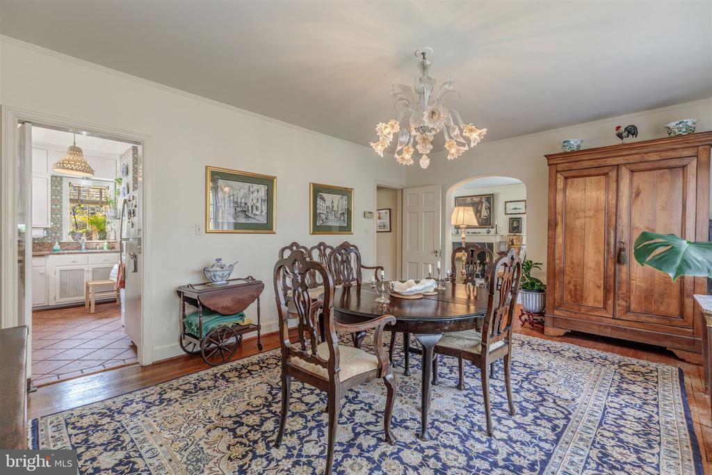 Large Dining Room - 3835 MACOMB ST NW, WASHINGTON