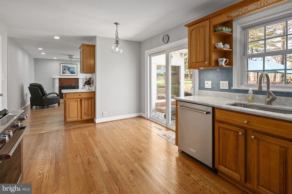 Lovely hardwood floors - 9611 GLENARM CT, BURKE