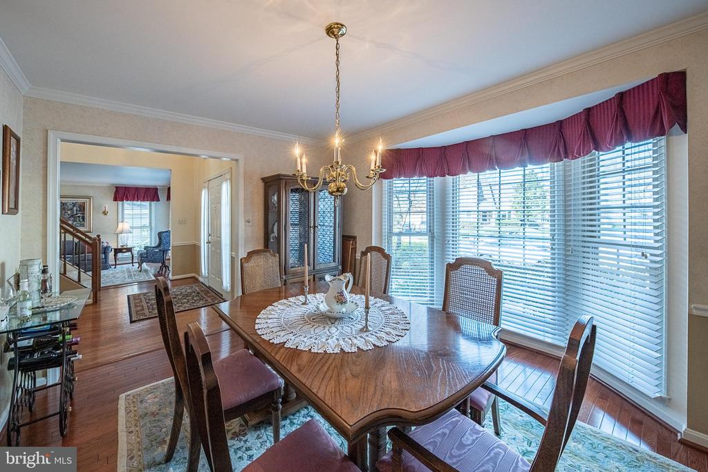 Separate dining room - 5207 BRAYWOOD DR, CENTREVILLE
