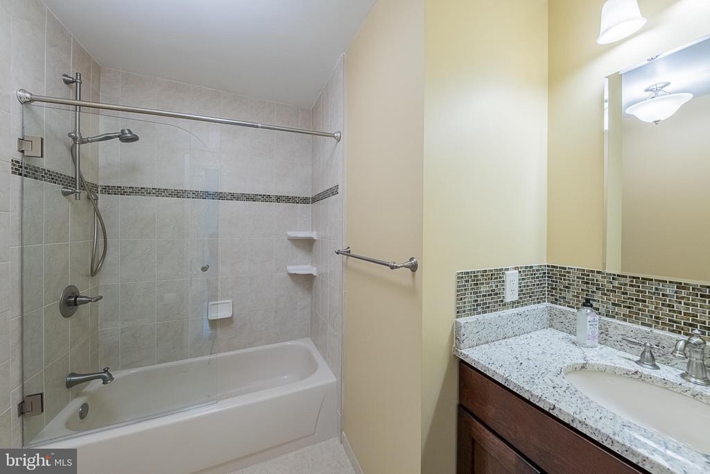 Additional full bath - 5207 BRAYWOOD DR, CENTREVILLE