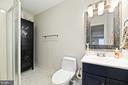 Lower Level Renovated Full Bathroom - 16 MCPHERSON CIR, STERLING