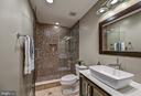 Lower Level Bath - 10303 FOREST MAPLE RD, VIENNA