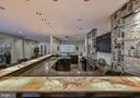 Bar with Lighted Onyx Countertops - 10303 FOREST MAPLE RD, VIENNA