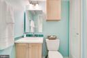 Full Bathroom on Lower Level - 9600 GLENARM CT, BURKE