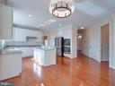 Kitchen w/new applicances - 20443 STONE SKIP WAY, STERLING