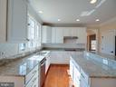 Granite countertops and gorgeous backsplash - 20443 STONE SKIP WAY, STERLING