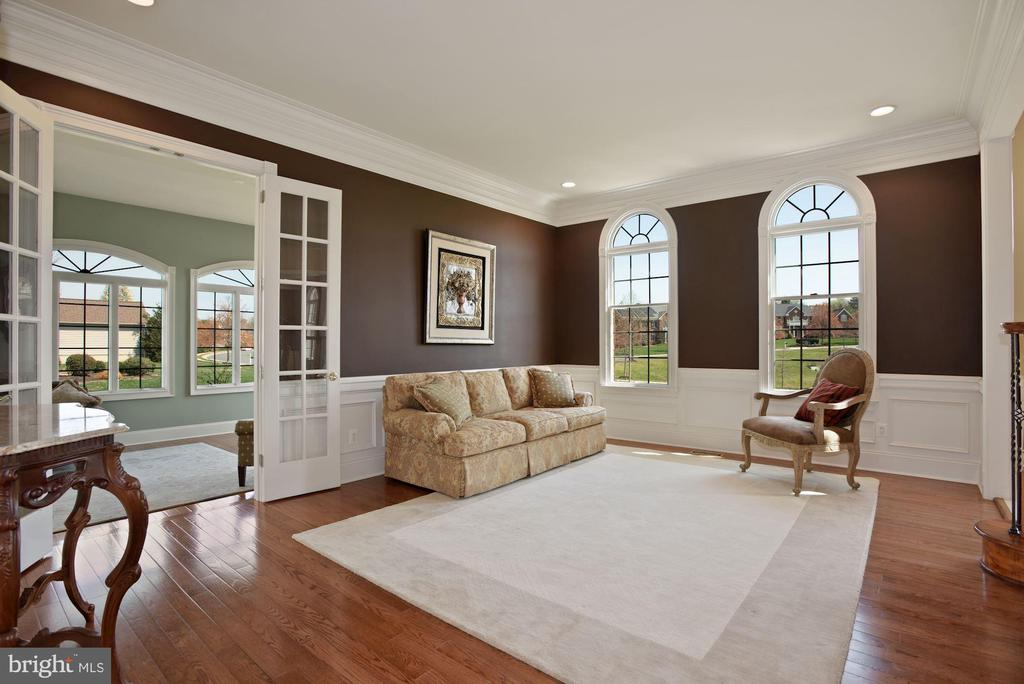 Circle top Windows & French Doors - 19979 BELMONT STATION DR, ASHBURN
