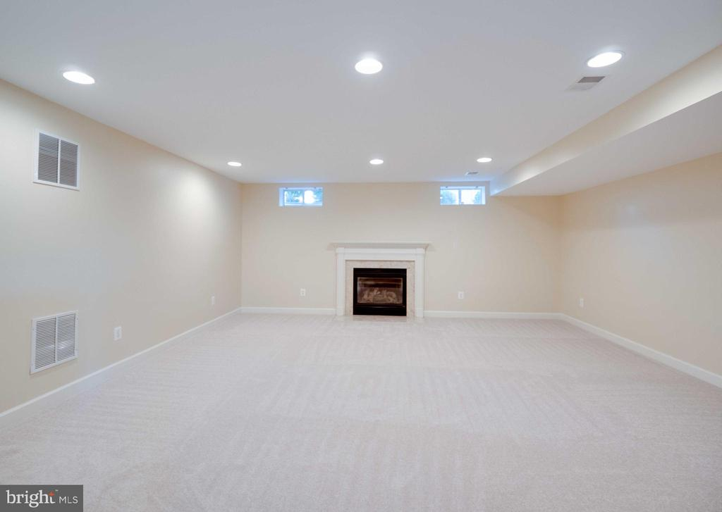Lower level recreation room - 20443 STONE SKIP WAY, STERLING