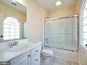 3rd full bath upstairs - 20443 STONE SKIP WAY, STERLING