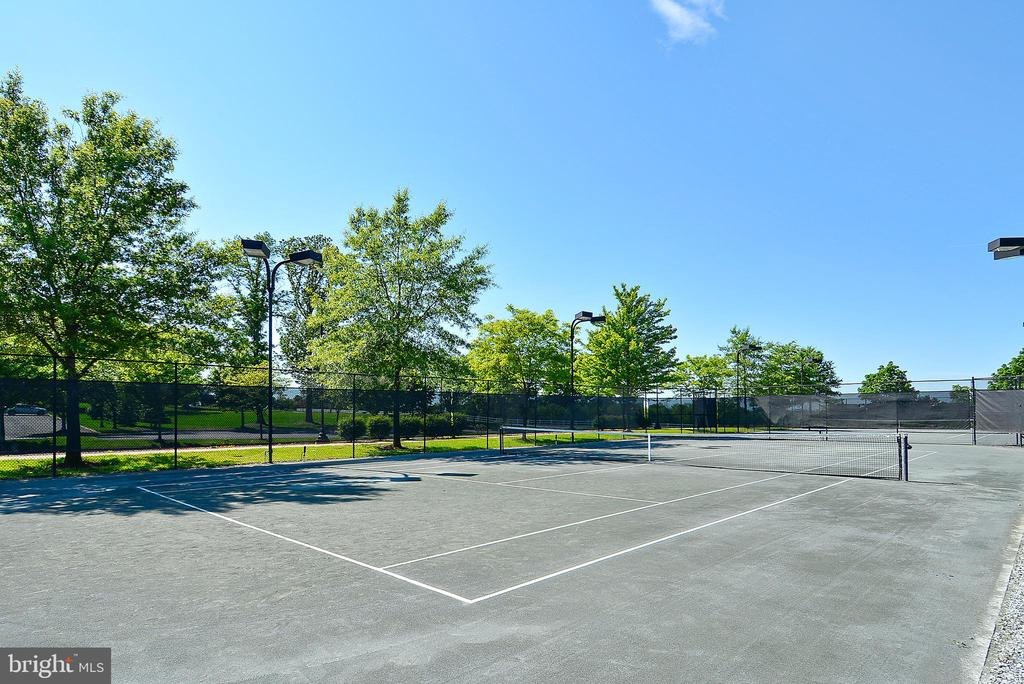Lighted, Clay Tennis Courts - 19979 BELMONT STATION DR, ASHBURN