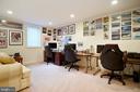 Lower Level Bedroom/Office - 18315 SEA ISLAND PL, LEESBURG
