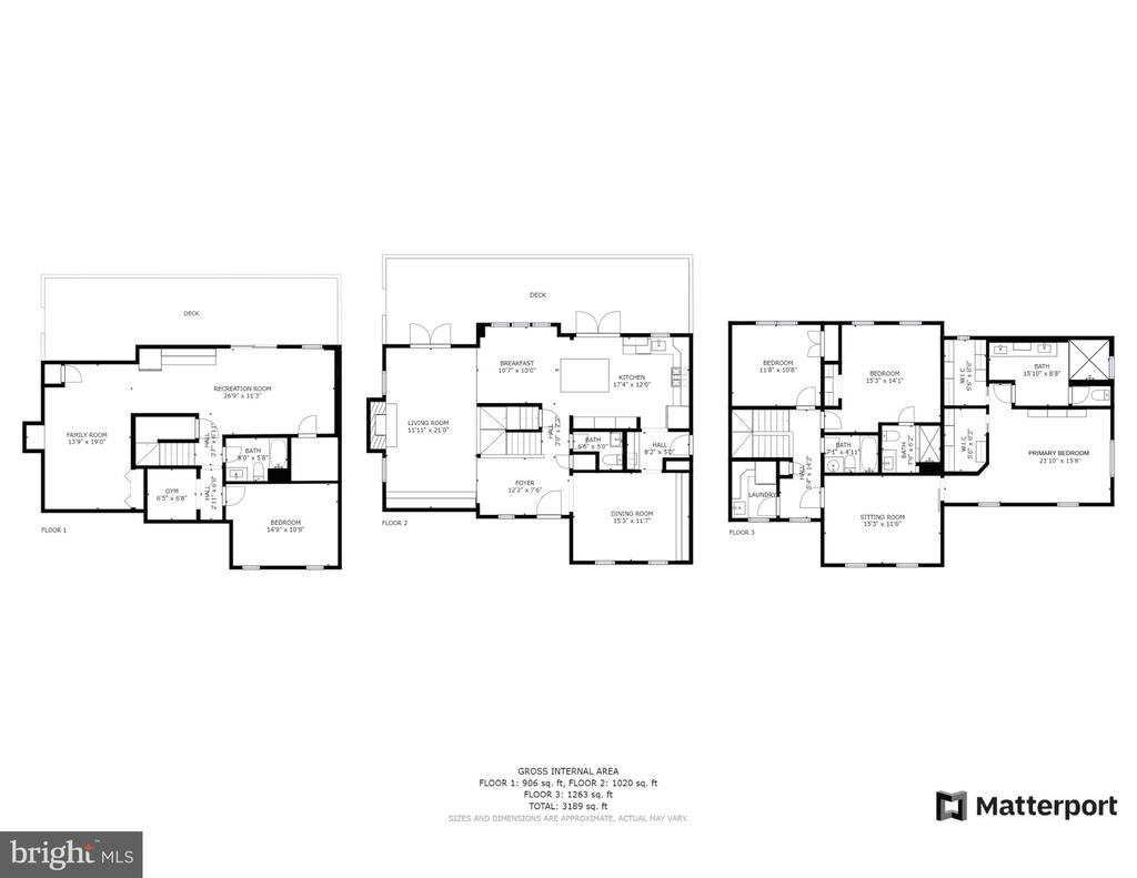 Floor Plans - 9103 NORTHEDGE DR, SPRINGFIELD