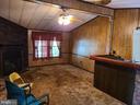 Living Room off of kitchen from back entrance. - 2843 WARRENTON RD, FREDERICKSBURG