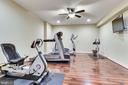 Lower Level Exercise Room - 10515 VALE RD, OAKTON