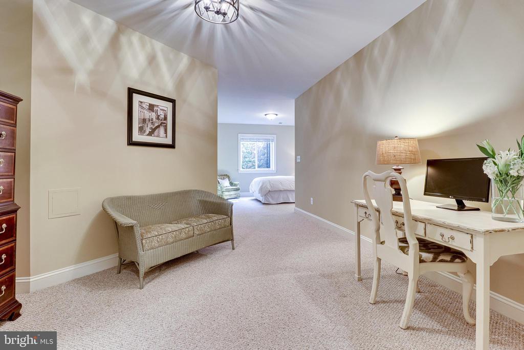 Lower Level Bedroom Suite - 10515 VALE RD, OAKTON