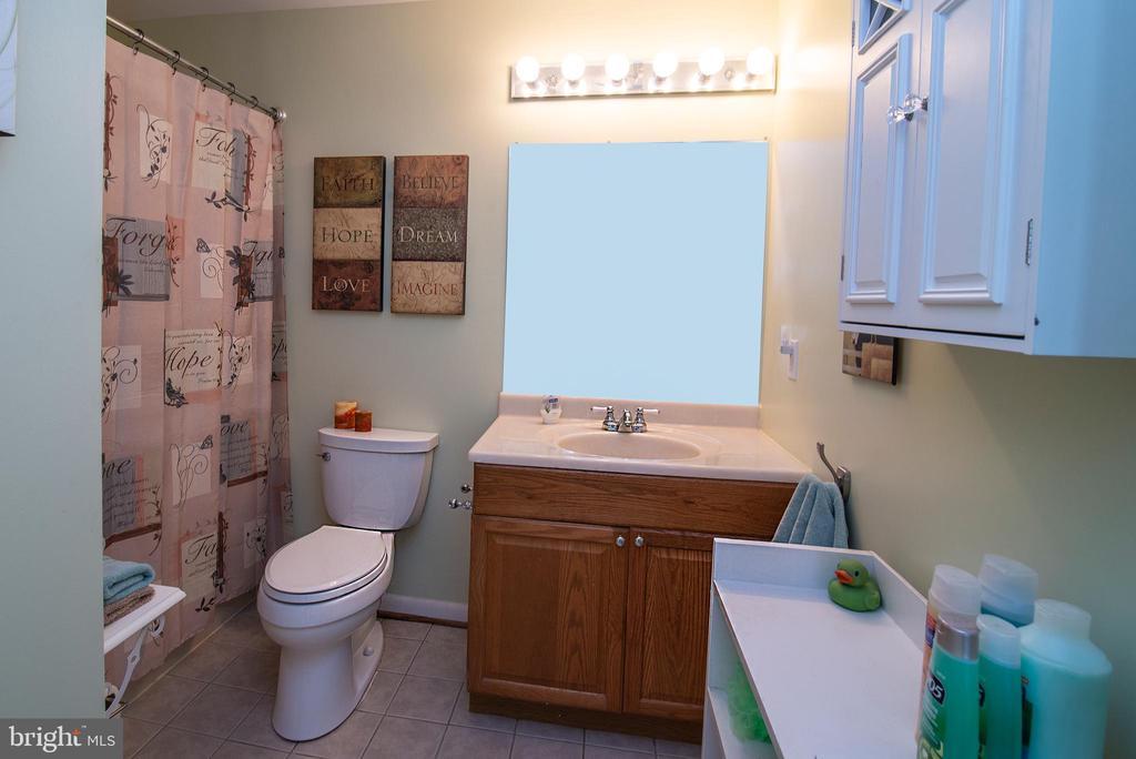 Hall bath. - 463 HARTWOOD RD, FREDERICKSBURG