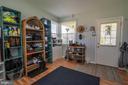 Large 13 x 13 storage/mud/pantry room off kitchen - 463 HARTWOOD RD, FREDERICKSBURG