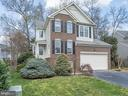 Brick front colonial with 2 car garage - 43446 RANDFIELD LN, CHANTILLY