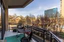 Second patio - 1530 KEY BLVD #128, ARLINGTON
