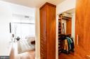 Abundant closet space - 1530 KEY BLVD #128, ARLINGTON