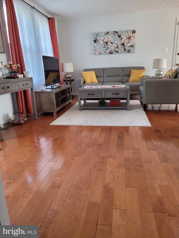 Living room - 5456 BRADDOCK RIDGE DR, CENTREVILLE