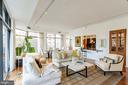 Main living space - 1530 KEY BLVD #128, ARLINGTON