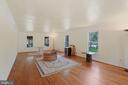 Huge living room; 2nd family room; flex space - 11935 RIDERS LN, RESTON