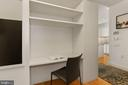 Den with built in desk - 1177 22ND ST NW #4G, WASHINGTON