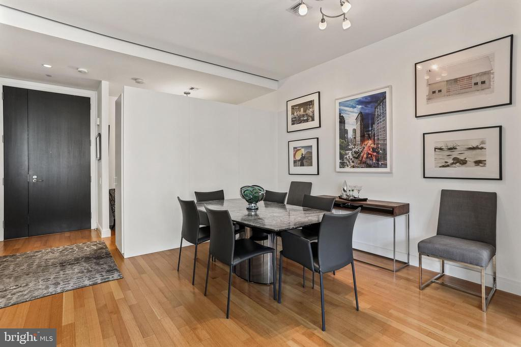 Open dining room area - 1177 22ND ST NW #4G, WASHINGTON