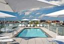 Spectacular roof top swimming pool - 1177 22ND ST NW #4G, WASHINGTON