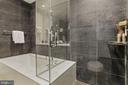 Master bathroom with large shower and  bench - 1177 22ND ST NW #4G, WASHINGTON