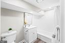 Basement bath - 1003 FLORIDA AVE NE, WASHINGTON