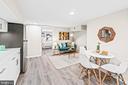 Basement / Rental kitchen - 1003 FLORIDA AVE NE, WASHINGTON